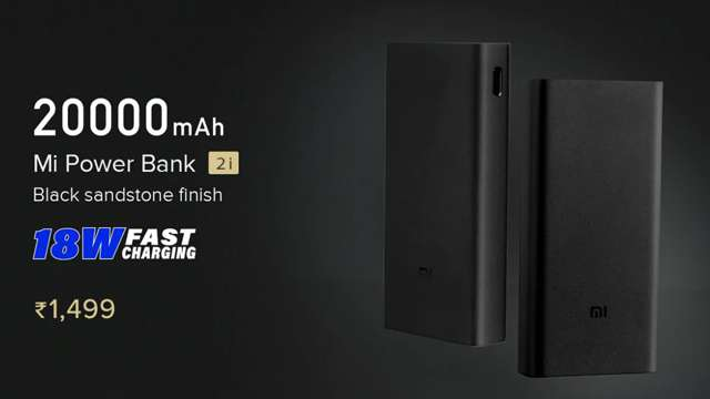 Mi Power Bank 2i just 1499 Rs has Launched in India