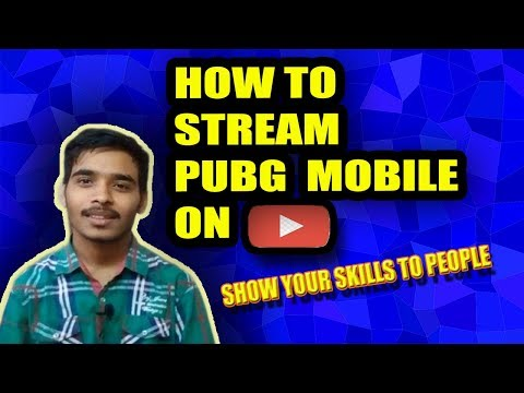 How To play Pubg Mobile Live Stream On Youtube